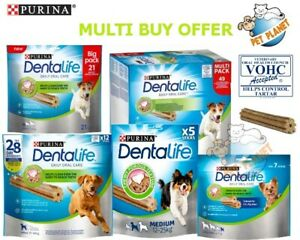 Purina Dentalife Daily Oral Care Chicken Chew Adult Mini,Small,Med & Large Dog