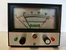 Vintage Jewell Dc Microammeter Test Equipment Meter Steampunk