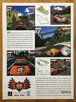 Ridge Racer PS1 Playstation 1 1996 Poster Ad Art Print Official Promo Race Rare