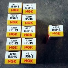 Lot 10 Bougie NGK B5HS (4210) + 1 GRATUITE Solex VeloSolex Mobylette