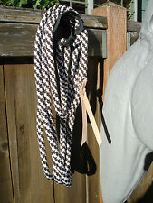 14 ft. Lead Rope Brown & White