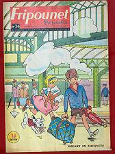 Fripounet Marisette Coeurs Vaillants  N° 26 du  27 JUIN  1963 bon etat