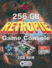 Retropie Game Console - New - 256GB Raspberry Pi 4 (2GB RAM) Plug & Play