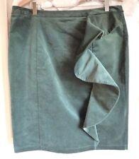 Per Una Cotton Patternless Regular Size Skirts for Women