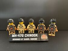 Brickmania Mh-47G Chinook Crew
