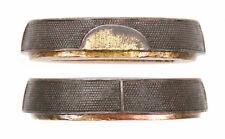 Antique Japanese Fuchi Aikuchi Dagger Handachi Sword Fitting Tsuka Handle Old