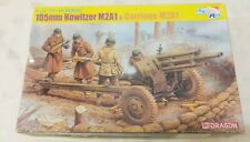 Dragon 1:35 105mm Howitzer M2A1 w/ M2A1 Carriage Model Kit #6499 *Sealed Bags*
