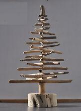 """Driftwood Christmas Tree 20""""/50cm Shelf Shabby Chic Home Decor Shelf X-Mas"""