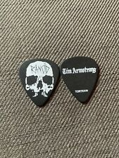 Rancid Tim Armstrong 2019 Tour Issue Guitar Pick Transplants Operation Ivy
