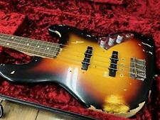 New Fender Custom Shop Jaco Pastorius Tribute Jazz Bass Three Color Sunburst