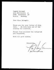 Ray Harryhausen Brief Original Signiert 13x17,5 ## G 10391