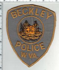 Beckley Police (West Virginia) 2nd Issue Uniform Take-Off Shoulder Patch