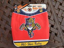 Vintage Florida Panthers All Amercian Baby Bib Jersey - Babys, Infant, Toddlers,