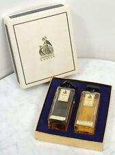 Pair of Vintage ARPEGE EAU DE LANVIN. 2 fl oz Bottles in the Box
