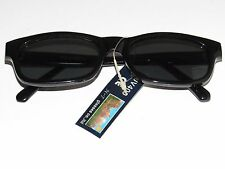 Mens Sunglasses  Black Dark Lenses UV400  /  ATEPI 100