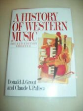 A History of Western Music By Dj Grout. 9780393956290