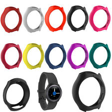 Silicone Frame Case Cover for Samsung Galaxy Gear S2/SM-R720/SM-R73 Smart Watch
