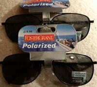 "Foster Grant Sunglasses *unisex* Brand new. **""2 x  Pairs**"