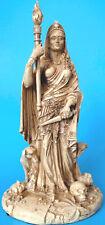 hekate,göttin,figur,skulptur,27x15cm,statue,polyresin,griechisch,steinoptik
