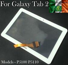Samsung Galaxy Tab 2 P5100 P5110 10.1 Digitizer Touch Screen Glass Lens White