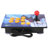 Zero Delay Arcade Game Controller USB Wired Arcade Fighting Game Joystick for PC