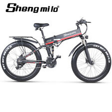 Electric 1000w Mountain Bicycle Fat tire Beach Cruiser Ebike City Power Assist