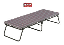 COLEMAN ComfortSmart Cot Folding Bed Camping Thick Foam Mattress Pad Steel frame