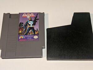 THE PUNISHER Vintage Nintendo NES Video Game Cartridge LJN Marvel FREE SHIPPING