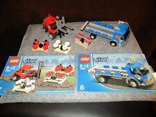 Lego - City - Eisenbahn - Gabelstabler & LKW aus Set 7898 mit BA