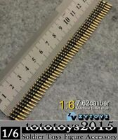 ZY TOYS Machine Bullet Chain Toy 1/6 scale Ammunition Belt For 12'' Figure