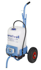 purefast ECO25 pure water window cleaning trolley with battery charger .
