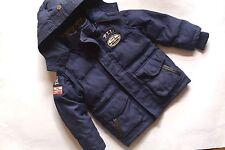 PEPE JEANS Super coole dunkelblaue Daunenjacke Weste Winterjacke Parka Gr.4/104