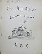 High School  History/Alumni Mars Hill ME Aroostook Central Institute 1983