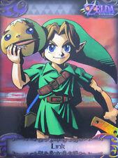 The Legend of Zelda Trading Cards: Link #92 Parallel Silver Foil