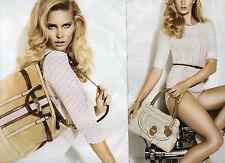 Publicité Advertising 2011  (2 PAGES)  GUESS sac à main collection mode