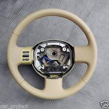 Nissan Micra III K12 Lenkrad Neubezogen.Geliefert ohne Tasten.