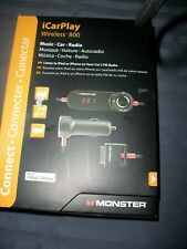 Monster iCarPlay Wireless 800 Music-Car-Fm Radio for Ipod and iPhone