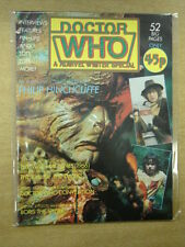DOCTOR WHO MARVEL WINTER 1981 SPECIAL BRITISH MAGAZINE DR WHO BORIS THE SPIDER