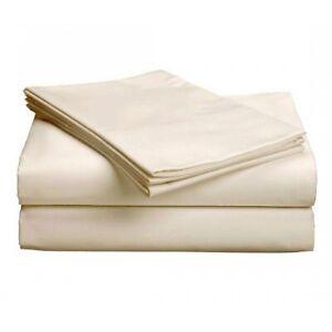 Gotcha Covered Basic Collection Cotton Blend Sheet Set - Cal King/Ivory