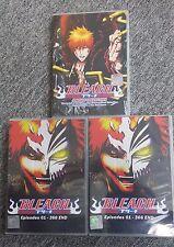 DVD Bleach Episode 1 - 366 + Movie ( ENG Dub & Sub ) 3 Box Set