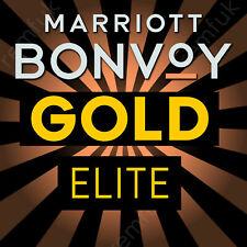 Marriott Bonvoy Gold Elite Status Upgrade – Gold Elite Benefits for 2+ years!