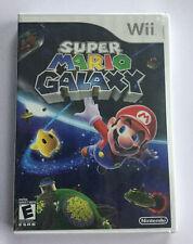 Super Mario Galaxy (Nintendo Wii, 2007) Sealed B/N