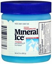 Mineral Ice Pain Relieving Gel 3.50 oz (Pack of 5)