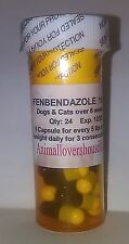 Giardia Medication for Cats, Kittens, Dogs & Puppies, 48 Capsules FREE Shipping