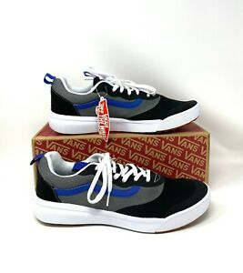 Vans Ultrarange Rapid Tri Tone Black Canvas Low Top Sneakers Women's VN0A3MVU49M