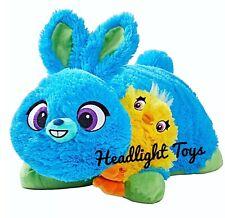 "New Disney Pixar Toy Story 4 Plush 16"" Bunny & Mini Ducky Pillow Pet Figure HTF"