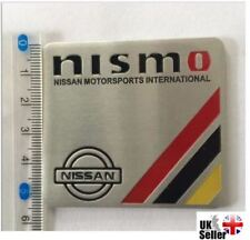 Nissan NISMO Motorsport 3D Metal Badge Emblem Sticker Micra Juke 370Z GTR