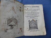 CALDERINO-ELOCUTIONES QUAE IN C.IULII CAESARIS DE BELLO GALLICO...CICERONIS-1598