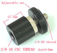 "3/8""-16 female to 1/4 unit male Convert Screw Adapter for camera tripod monitor"