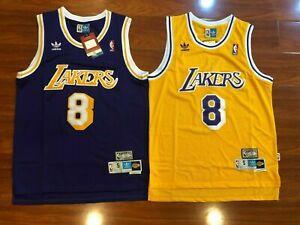 Kobe Bryant #8 Los Angeles Lakers Basketball Men's Swingman Jersey Gold/Purple
